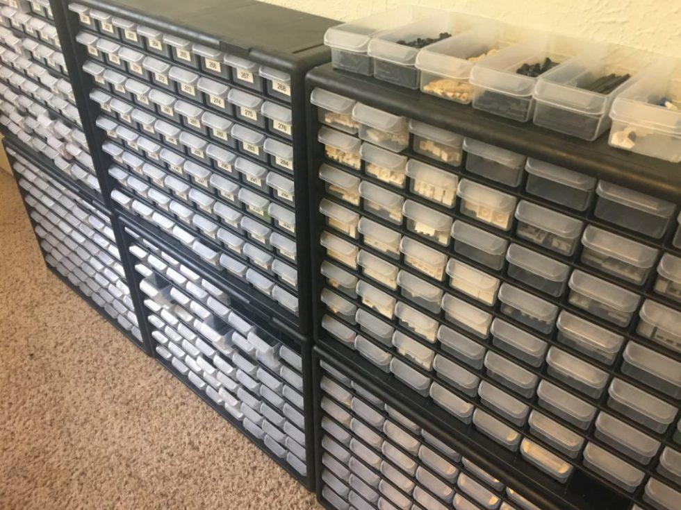 Acro Mills 64 drawer Storage