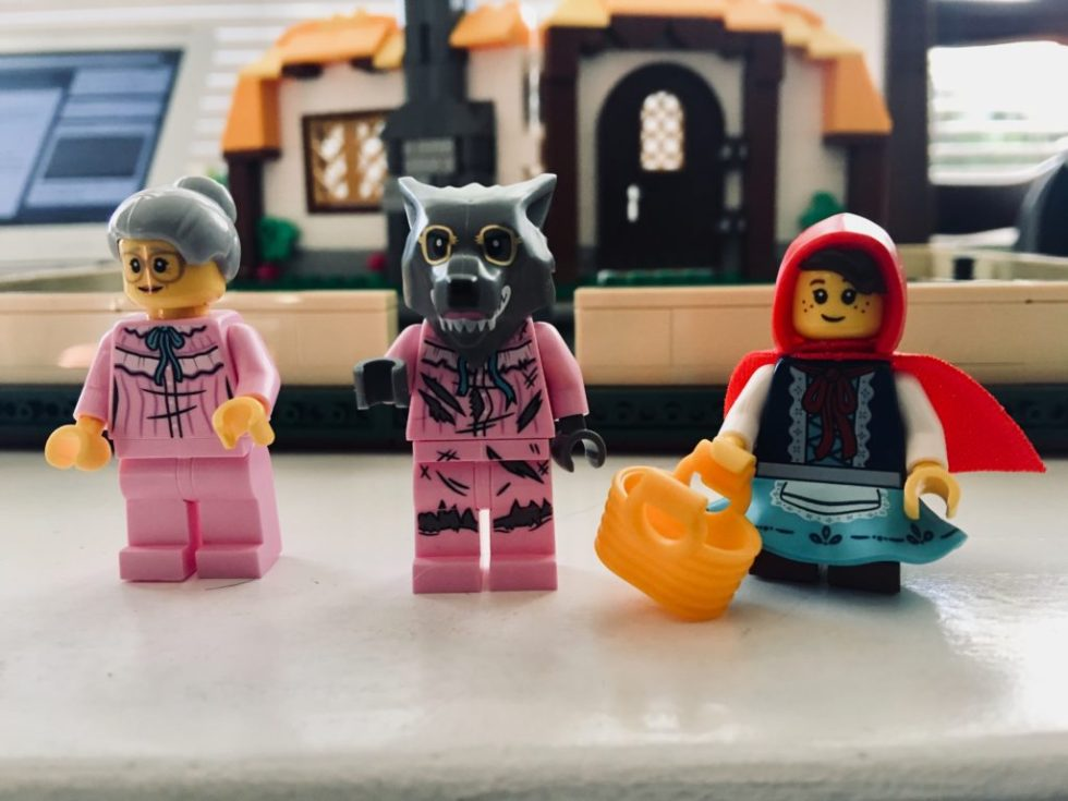 Lego Little Red Riding Hood Minifigs