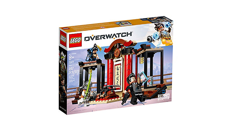 Lego 75971 Overwatch Hanzo vs Genji Official Box image