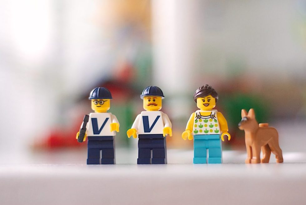 Lego Vestas Minifigures included in the set