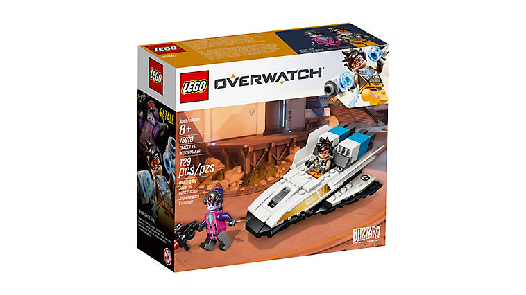 LEGO Overwatch Tracer and Widowmaker official Set Box