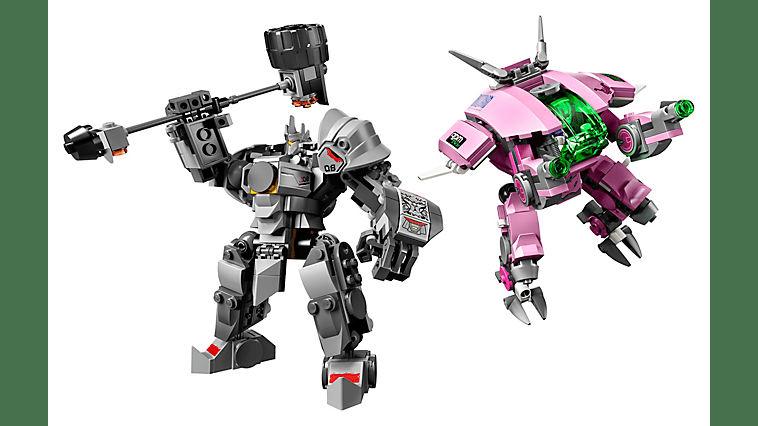 Lego Overwatch Mechs