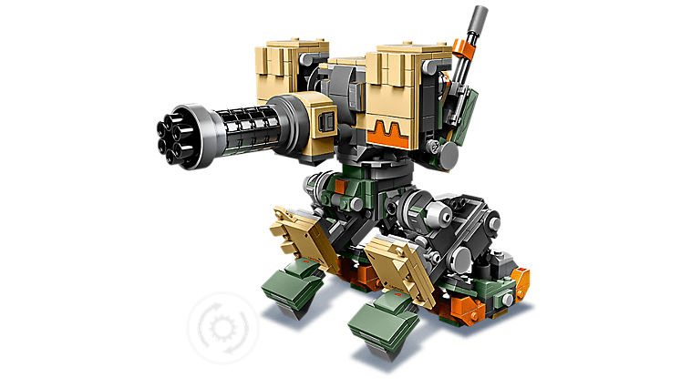Lego Overwatch Bastion in Sentry Mode