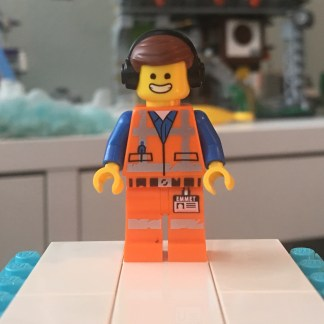 LEGO Awesome Remix Emmet Minifigure