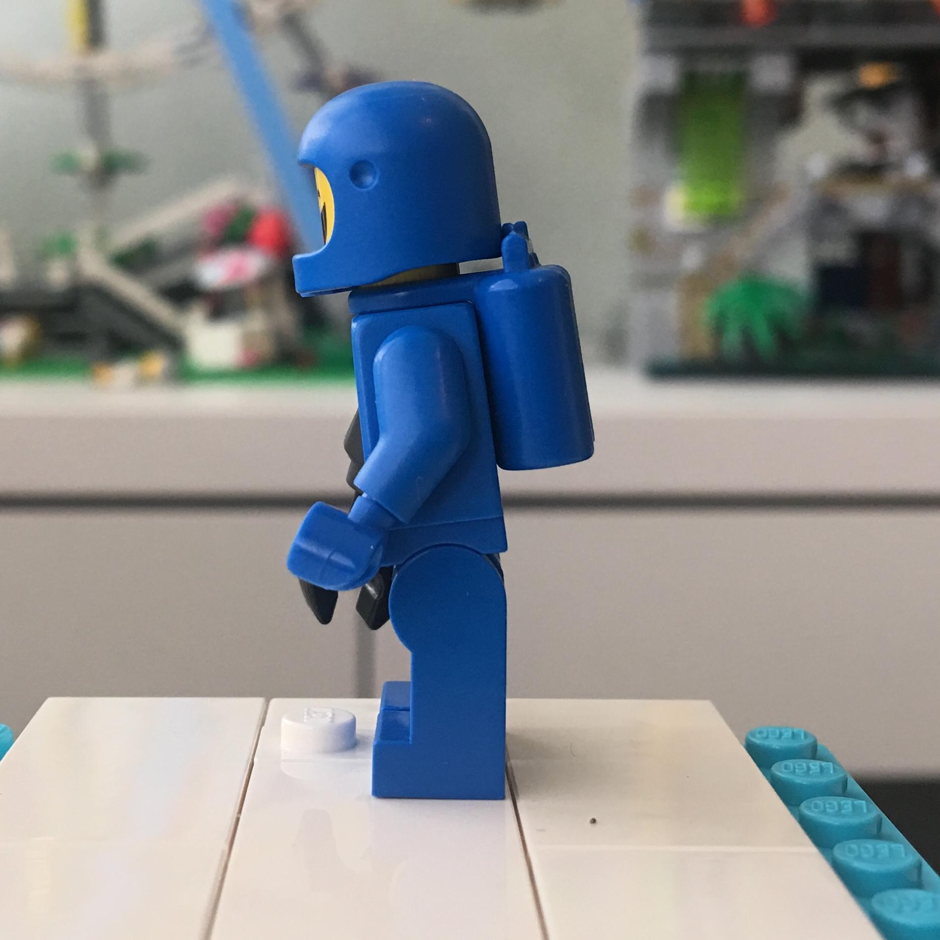 APOCALYPSEBURG BENNY New Factory Sealed LEGO Movie 2 Minifigure 71023