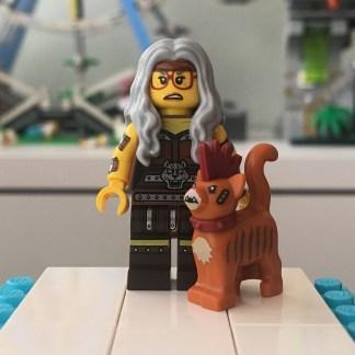 Lego Cat Lady Minifigure