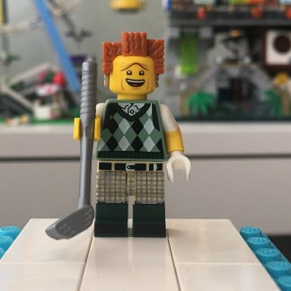 LEGO Gone Golfin' President Business Minifigure