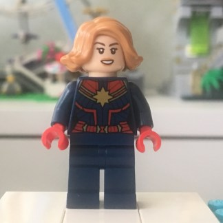 LEGO Captain Marvel Minifigure
