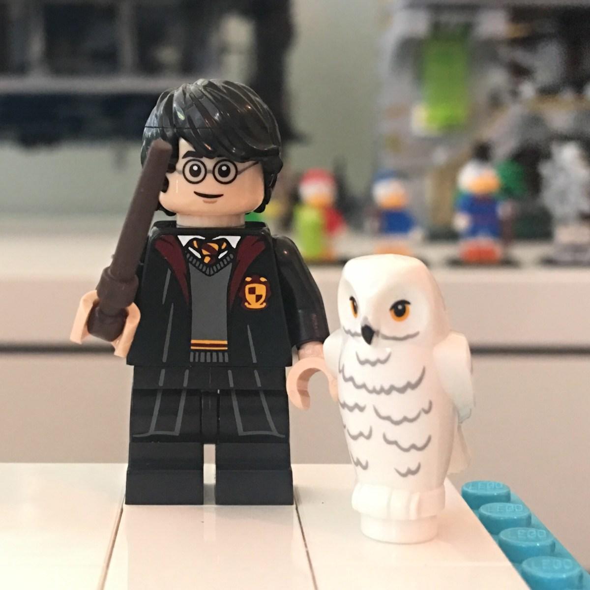 LEGO Black Tousled Harry Potter Minifig Minifigure Hair