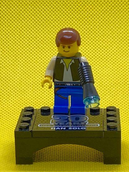 LEGO Star Wars Han Solo, Blue Legs (20th Anniversary Torso)