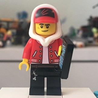 LEGO Jack Davids Minifigure - With Red Jacket