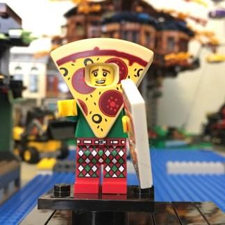 LEGO Pizza Guy Minifigure