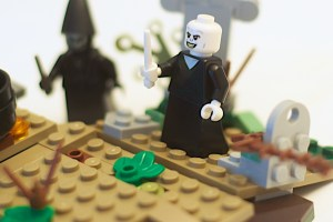LEGO 75965 The Rise of Voldemort Box Voldemort Minifigure