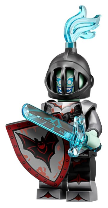 LEGO Series 19 Black Knight Minifigure
