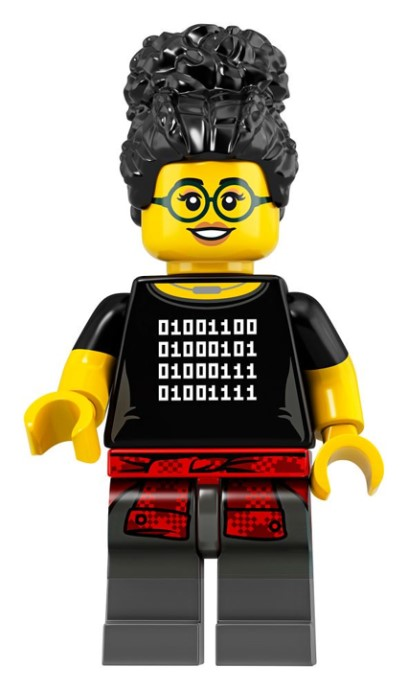 LEGO Series 19 Coder Girl Minifigure