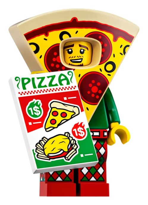 LEGO Series 19 Pizza Guy Minifigure