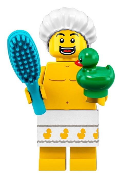 LEGO Series 19 Shower Guy Minifigure