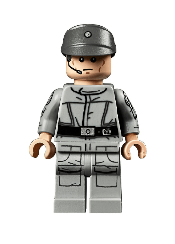 This is the other minifigure from LEGO 75252 - UCS Imperial Star Destroyer.  Since the set costs 700, and there are only 2 minifigures, this is sure to be a collectible.
