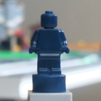 Lego Dark Blue Monochrome nanofigure