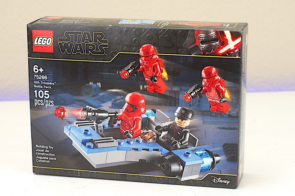 LEGO 75266 Sith Troopers Battle Pack Box Front