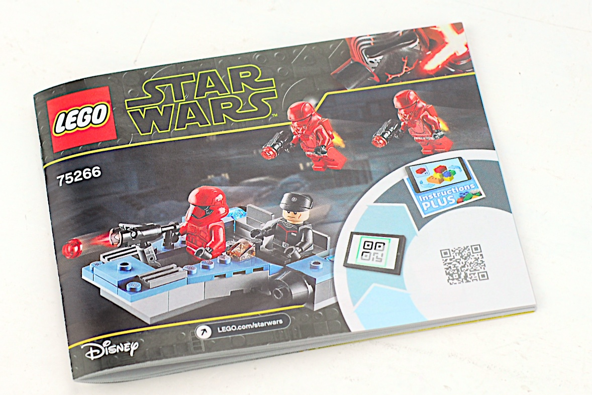 LEGO 75266 Sith Troopers Battle Pack Instruction Book