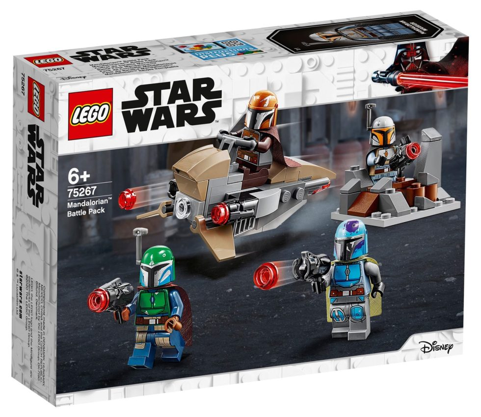 LEGO 75267 Mandalorian Battle Pack Box Front
