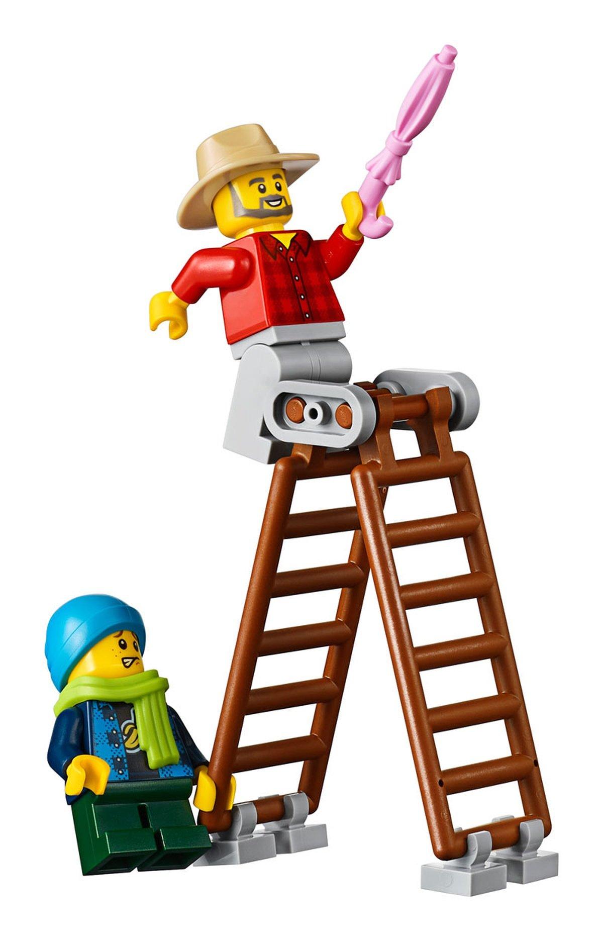 LEGO 10270 Creator Expert Modular Bookshop minifigure details