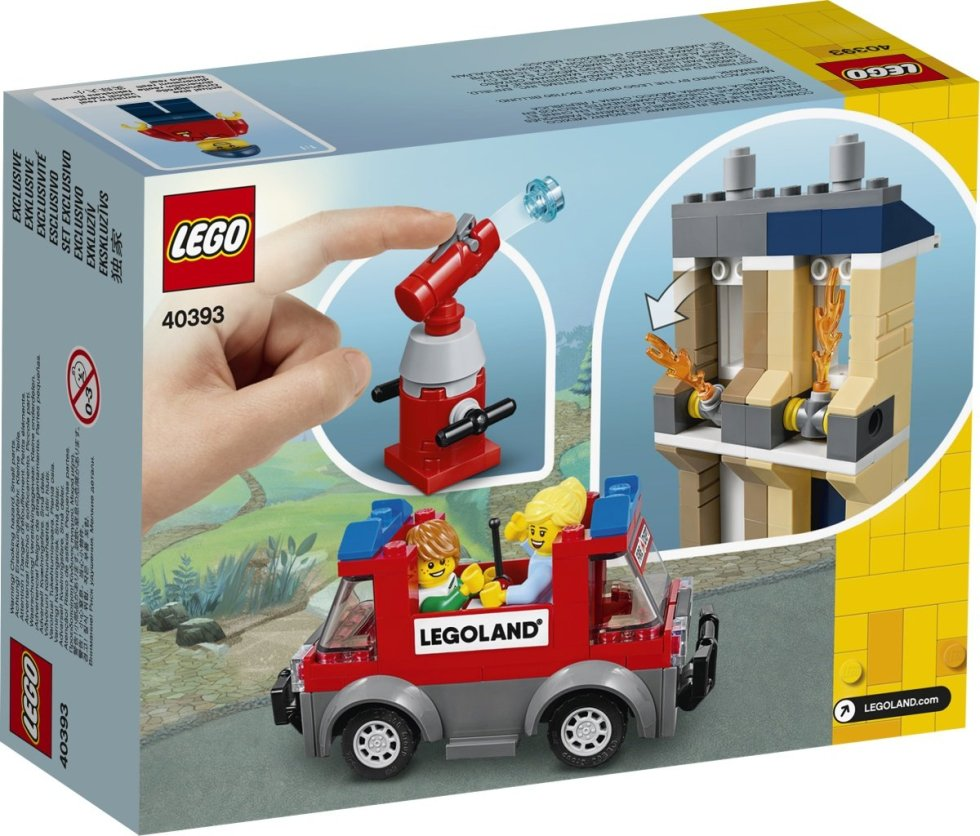 LEGO 40393 LEGOLand Exclusive Box Rear