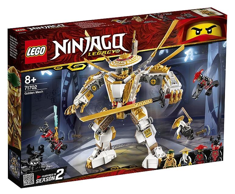 LEGO 71702 Ninjago Golden Mech Box Front