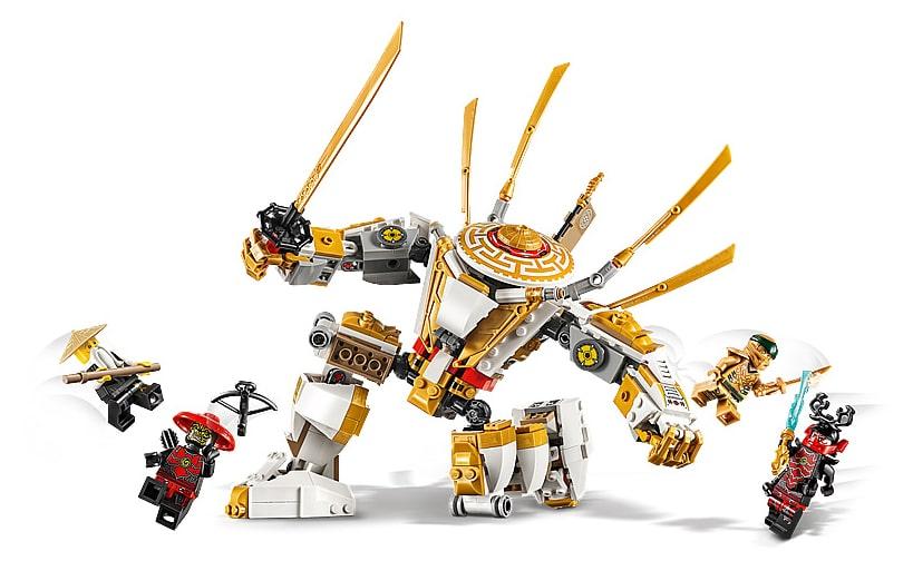 LEGO 71702 Ninjago Golden Mech Details
