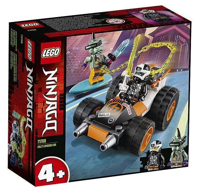 LEGO 71706 Ninjago Coles Speeder Box Front
