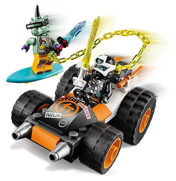LEGO 71706 Ninjago Coles Speeder detalis