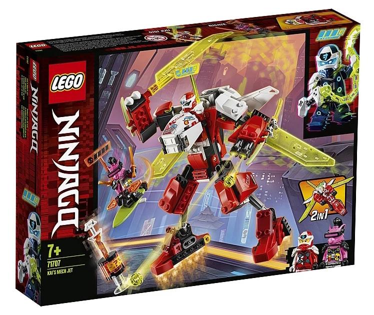 LEGO 71707 Ninjago Kais Mech Jet Box back