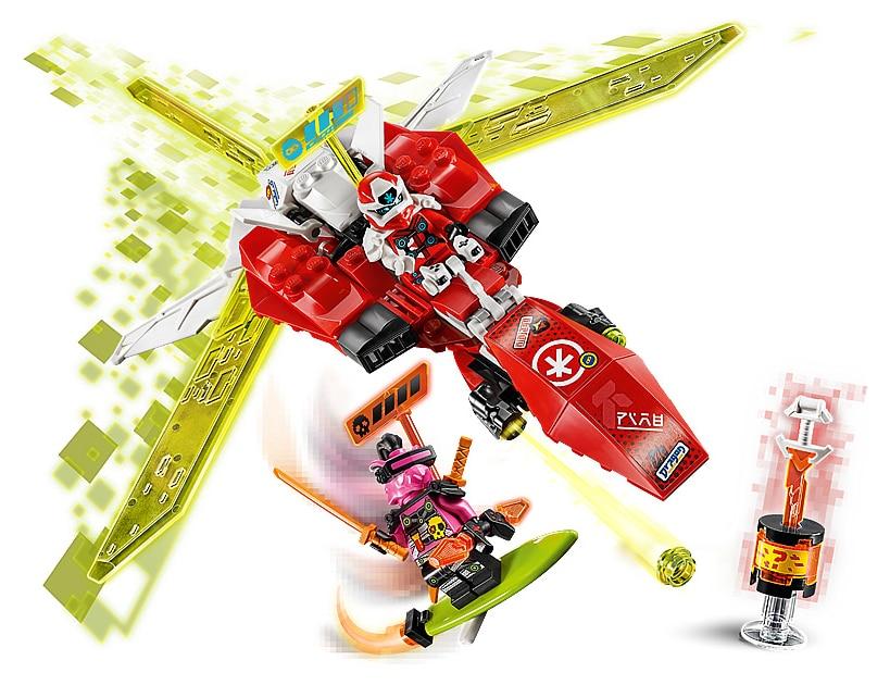 LEGO 71707 Ninjago Kais Mech Jet details