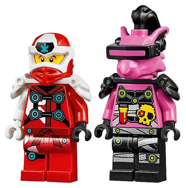 LEGO 71707 Ninjago Kais Mech Jet minifigures