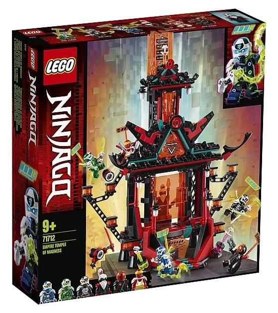 LEGO 71712 Ninjago Temple of Madness Box Front