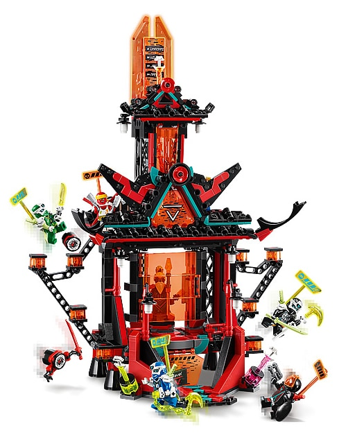 LEGO 71712 Ninjago Temple of Madness review