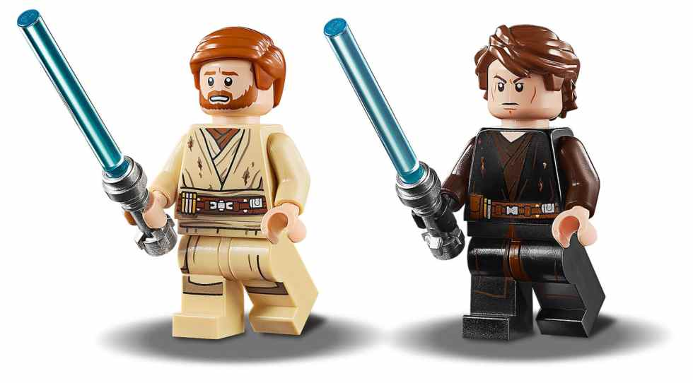 LEGO 75269 Star Wars Duel on Mustafar minifigures