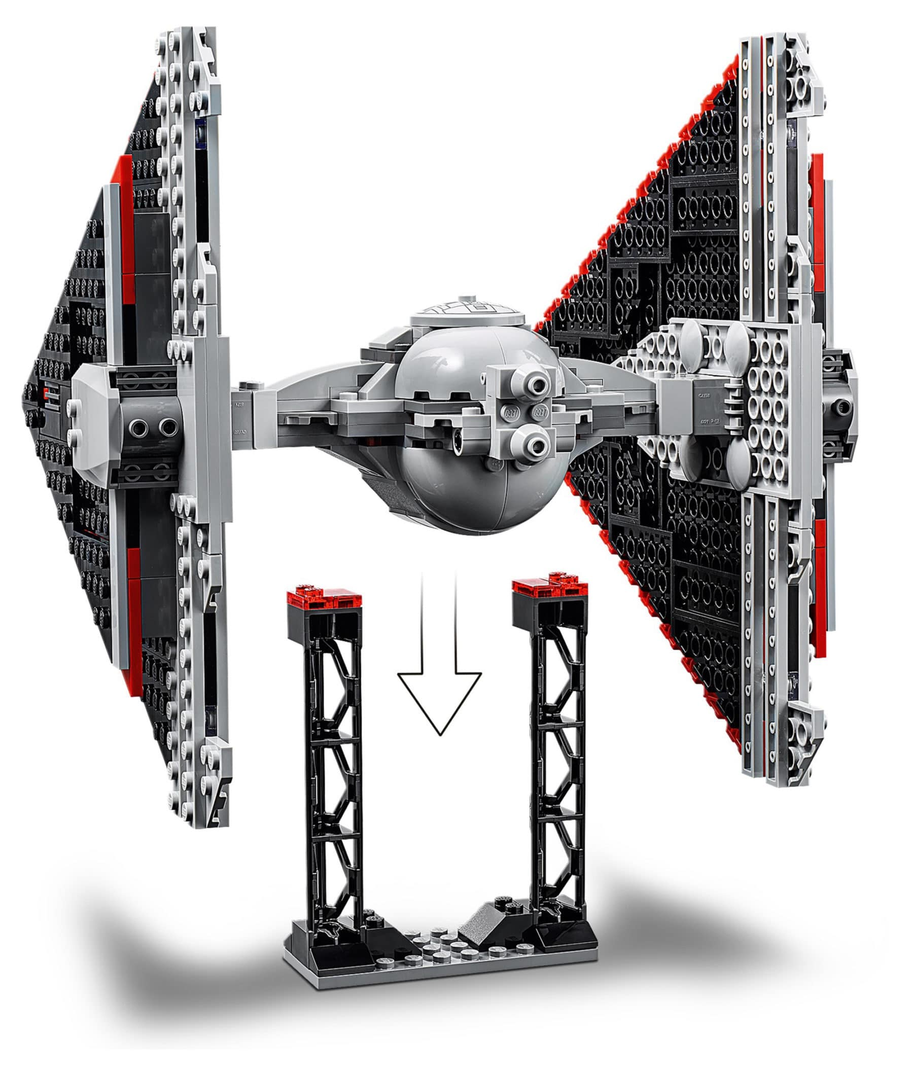 LEGO 75272 Star Wars Sith TIE Fighter stand