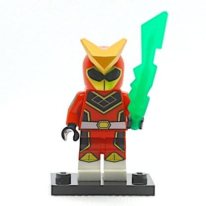 LEGO 71027 CMF 20 Red Ranger 1