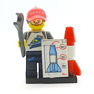 LEGO 71027 CMF 20 Rocket Fan Girl 1