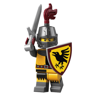 Lego 71027 Knight Series 20 Minifigure