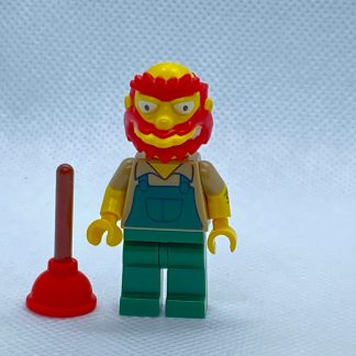 LEGO 71009 CMF Simpsons Series 2 Minifigure Groundskeeper Willie