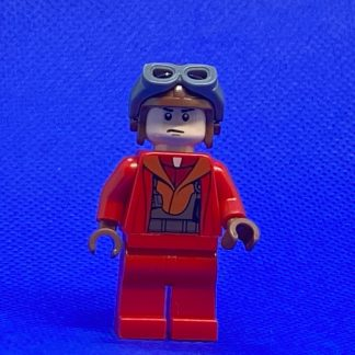 LEGO Star Wars Minifigure Naboo Fighter Pilot - Red Jumpsuit