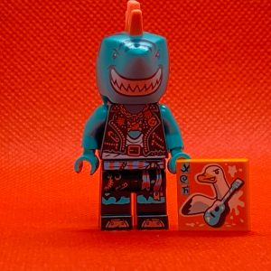 LEGO Vidiyo Minifigure - Shark Singer Bandmates