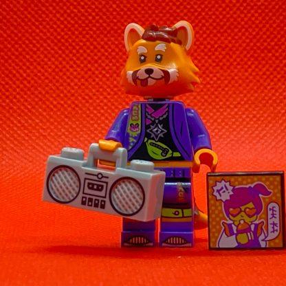 LEGO Vidiyo Minifigure - Red Panda Dancer Bandmates