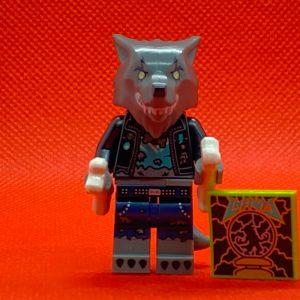 LEGO Vidiyo Minifigure - Werewolf Drummer Bandmates