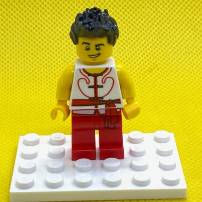 LEGO Minifigure Dragon Boat Race Team Red/White Member 5