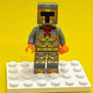 LEGO Minecraft Lava Knight Minifigure