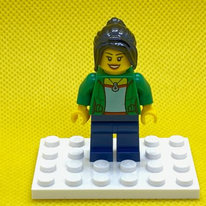 LEGO Minifigure Dragon Boat Race Adult Female Spectator